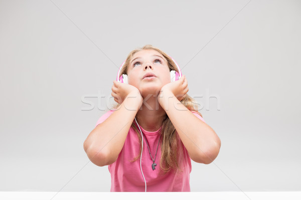 I'll be a singer when I grow up Stock photo © Giulio_Fornasar