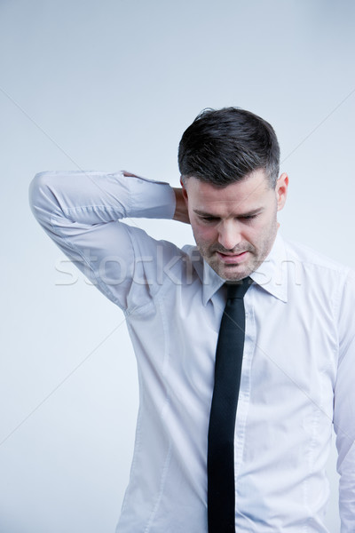 man worried about future or money Stock photo © Giulio_Fornasar