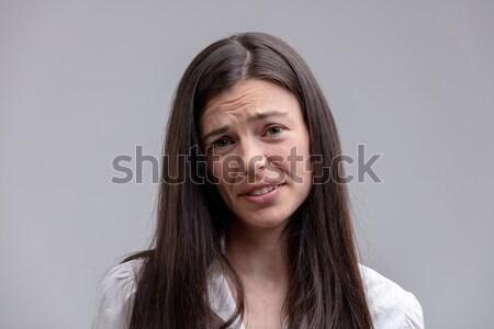 純正 若い女性 頭 見 ストックフォト © Giulio_Fornasar