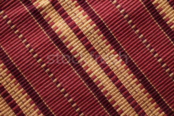 Warmly striped fabric Stock photo © Giulio_Fornasar