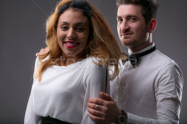 upperclass happy couple of company owners Stock photo © Giulio_Fornasar