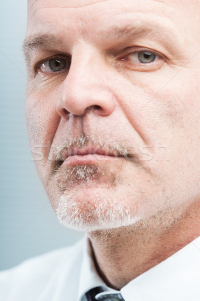 mature business man closeup trustworthy portrait Stock photo © Giulio_Fornasar
