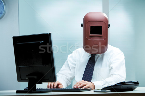 Work is getting more and more weird, isn't it? Stock photo © Giulio_Fornasar