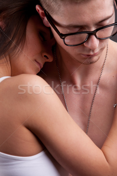 Stock photo: hold me in your arms my love