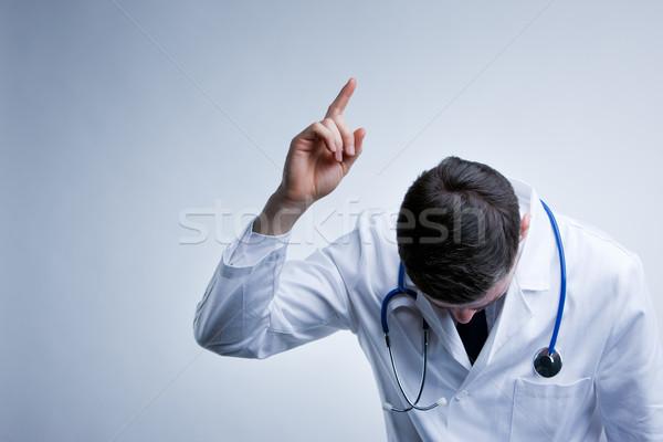 Um mais médico provérbio estilo médico Foto stock © Giulio_Fornasar