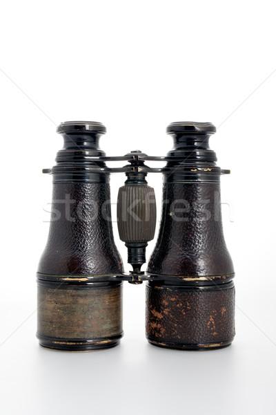 Stock fotó: öreg · látcső · klasszikus · fekete