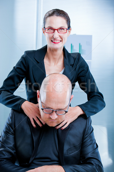 I think am going to strangle you now Stock photo © Giulio_Fornasar