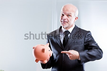 man challenging you with boxing gloves Stock photo © Giulio_Fornasar