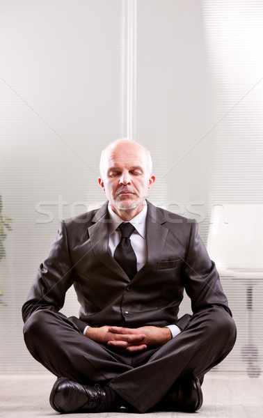 ohmm business meditation ohm ohhmm Stock photo © Giulio_Fornasar