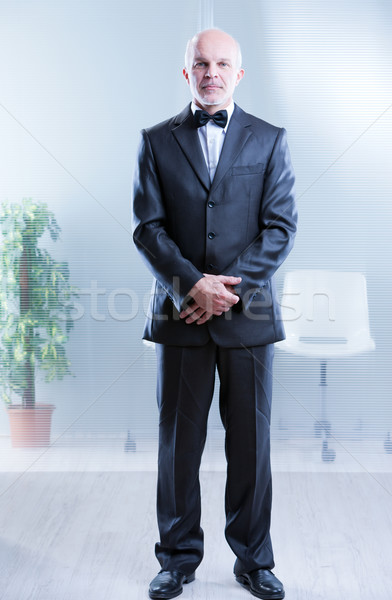 yes Sir, I'm ready to serve Stock photo © Giulio_Fornasar