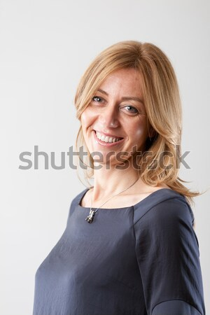 portrait of a real woman from the real world Stock photo © Giulio_Fornasar