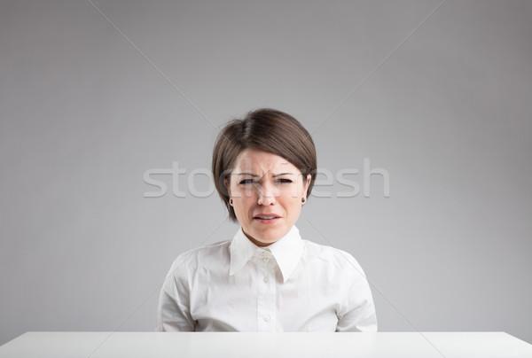 portrait of a very sad woman Stock photo © Giulio_Fornasar