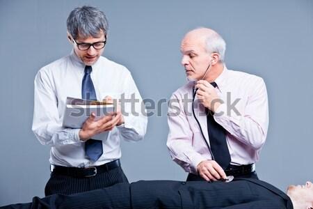 сотрудников молодые старые люди Сток-фото © Giulio_Fornasar