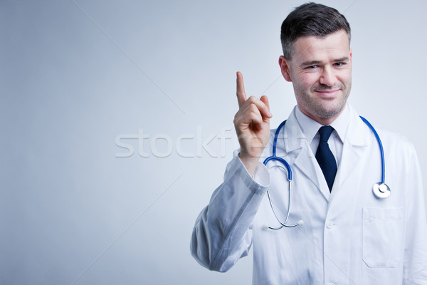 listen to doctor's suggestions and advice Stock photo © Giulio_Fornasar