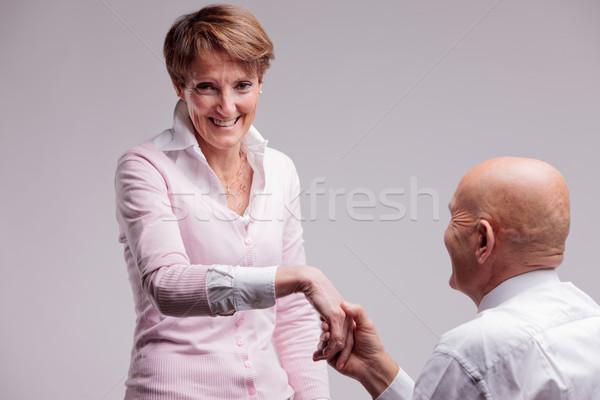 marriage proposal Stock photo © Giulio_Fornasar