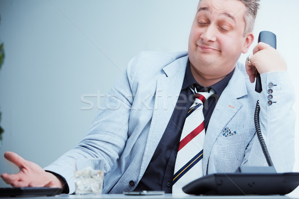 dude I really don't care about your problem Stock photo © Giulio_Fornasar