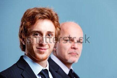 Personeel jobs problemen jonge oude mensen Stockfoto © Giulio_Fornasar