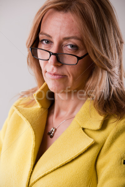 strict teacher or boss or mother Stock photo © Giulio_Fornasar