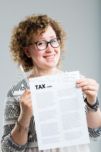 taxes are not a problem if you're experienced Stock photo © Giulio_Fornasar