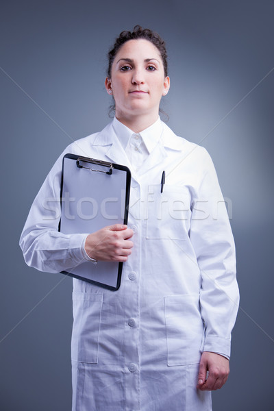 Stock photo: yes sir I am a doctor