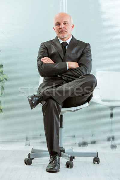 manager staring at you firmly Stock photo © Giulio_Fornasar