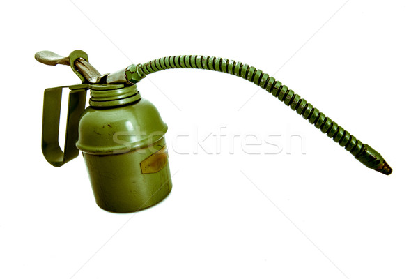 vintage oiler with flexible spout Stock photo © Giulio_Fornasar