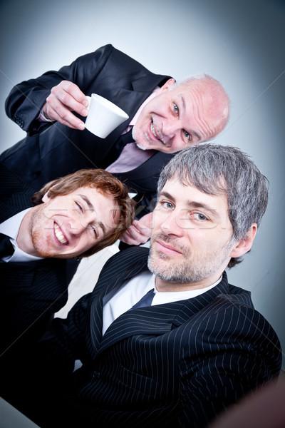 группа бизнесменов бизнеса Сток-фото © Giulio_Fornasar