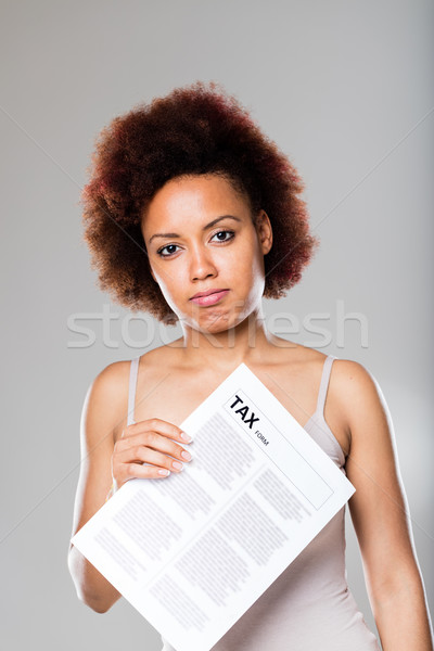 tax time has already arrived this year Stock photo © Giulio_Fornasar