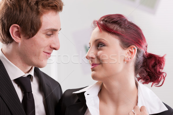 love affairs on the office space Stock photo © Giulio_Fornasar