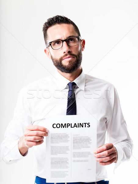 complaints received by customer service Stock photo © Giulio_Fornasar