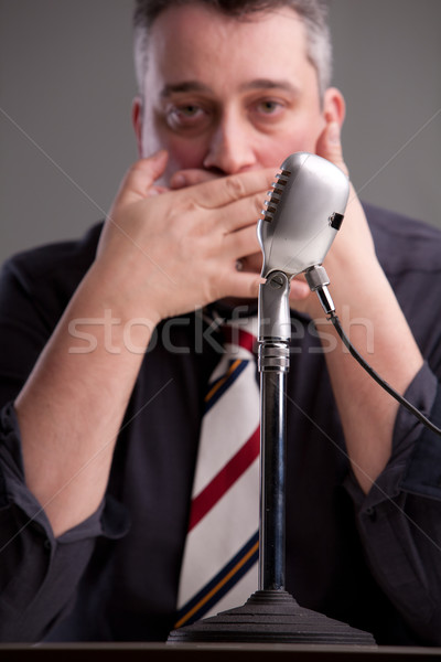 a speaker that can't speak Stock photo © Giulio_Fornasar