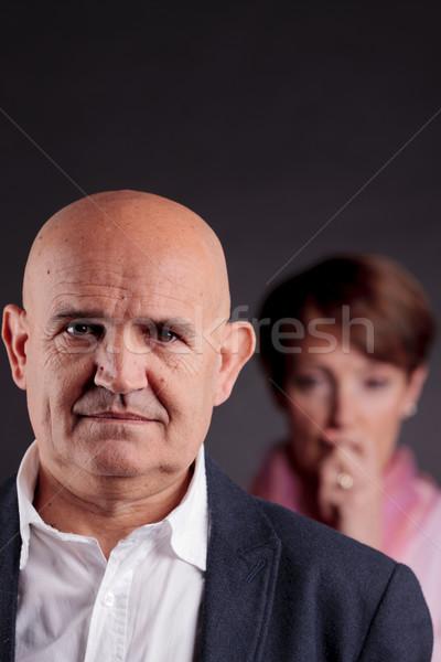 Zaufania człowiek stary pierwszy plan staruszka patrząc Zdjęcia stock © Giulio_Fornasar