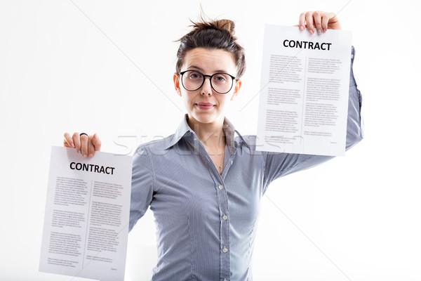 выбирать различный эксперт работодатель продавец Сток-фото © Giulio_Fornasar