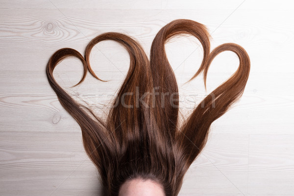 love is in the hair Stock photo © Giulio_Fornasar