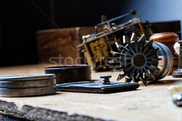 Vintage professional Lid Glass Clocks Opener  Stock photo © Giulio_Fornasar