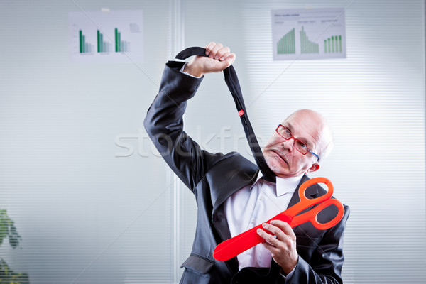 cuts are killing my business Stock photo © Giulio_Fornasar