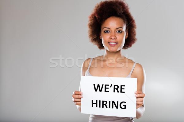 enterprise or company is hiring Stock photo © Giulio_Fornasar