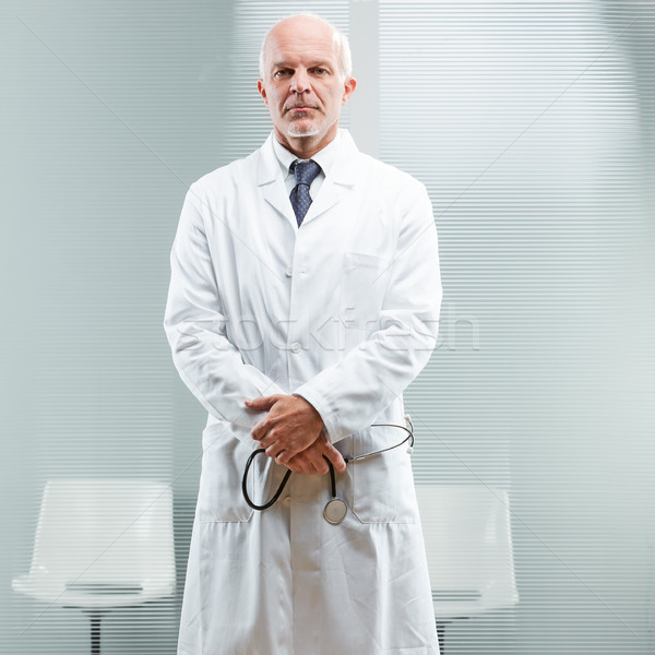 head physician attending to your problem Stock photo © Giulio_Fornasar