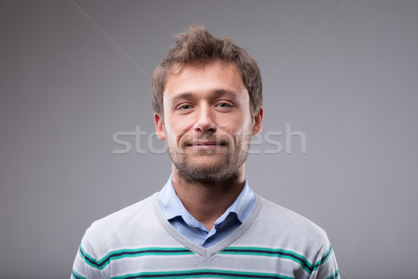 Friendly man with a lovely warm smile Stock photo © Giulio_Fornasar