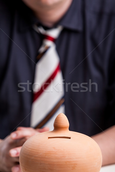 time to save some money in this business Stock photo © Giulio_Fornasar