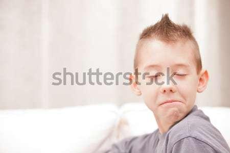 Rozczarowany mój przyjaciela mały dziecko Zdjęcia stock © Giulio_Fornasar