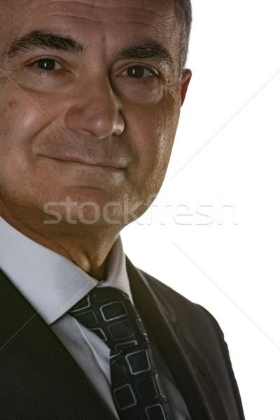 Negócio amigável sorrir retrato Foto stock © Giulio_Fornasar
