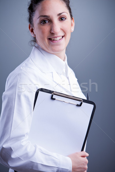 I am at your service you can trust me Stock photo © Giulio_Fornasar