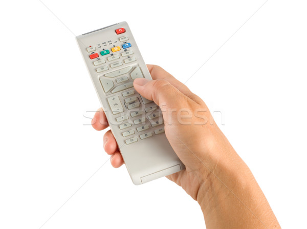 Remote controller in a hand Stock photo © Givaga