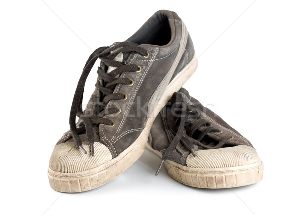 Old sneakers Stock photo © Givaga