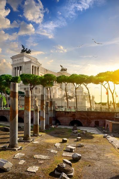 Great Vittoriano in Rome Stock photo © Givaga