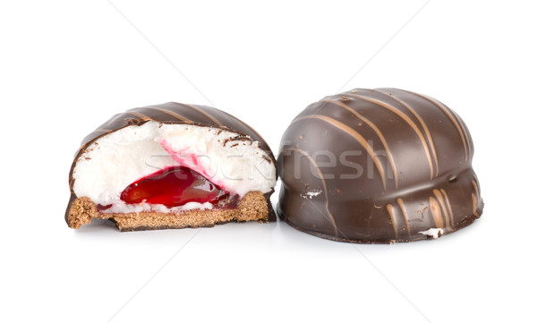 Chocolate bar with cream Stock photo © Givaga