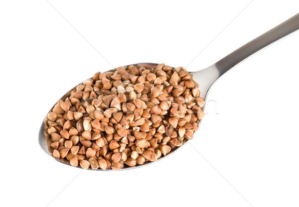 Buckwheat in a spoon Stock photo © Givaga