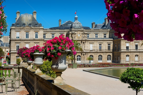 Jardin du Luxembourg Stock photo © Givaga