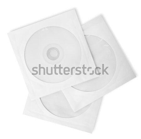 Paper bags for CD Stock photo © Givaga